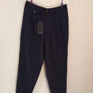 Zara Man w29 x l30 Black Soft Dress pants